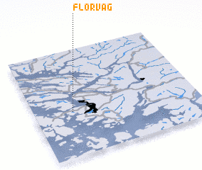3d view of Florvåg