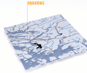 3d view of Odderås