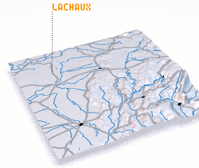 3d view of La Chaux