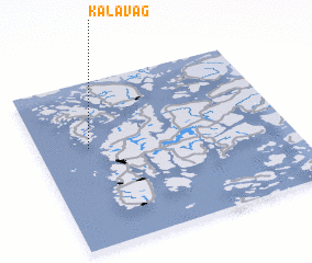 3d view of Kalavåg