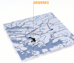 3d view of Drivenes