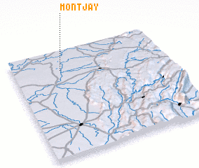 3d view of Montjay