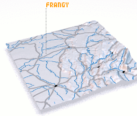 3d view of Frangy