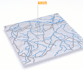 3d view of Ahun
