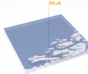 3d view of Selje