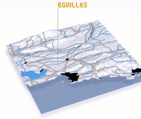3d view of Éguilles