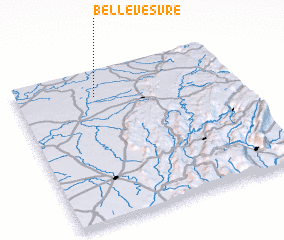 3d view of Bellevesvre
