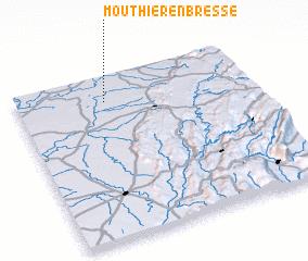 3d view of Mouthier-en-Bresse