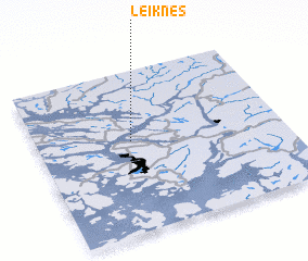 3d view of Leiknes