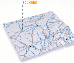 3d view of Bouhans