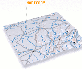 3d view of Montcony