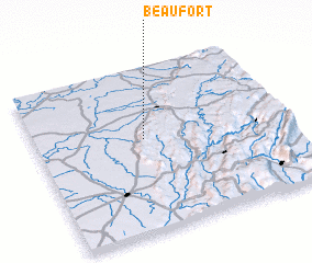 3d view of Beaufort