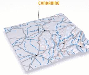3d view of Condamine