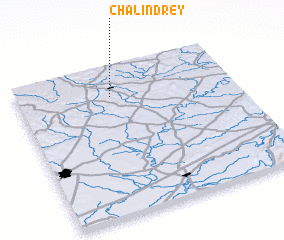 3d view of Chalindrey
