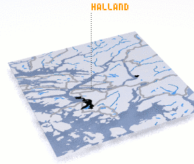 3d view of Hålland