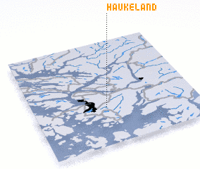 3d view of Haukeland