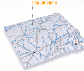 3d view of Beauvernois
