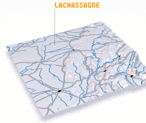 3d view of La Chassagne