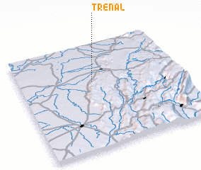 3d view of Trénal