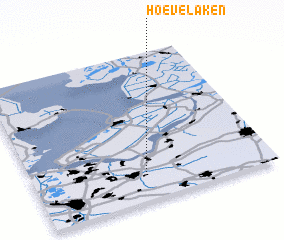 3d view of Hoevelaken