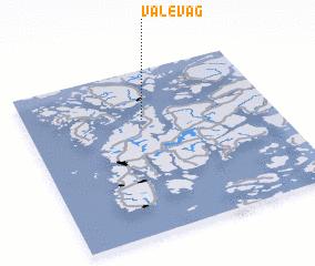 3d view of Valevåg