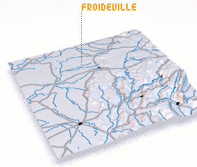 3d view of Froideville