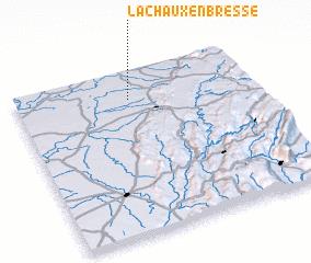 3d view of La Chaux-en-Bresse