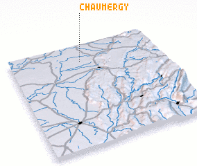 3d view of Chaumergy