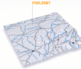 3d view of Foulenay