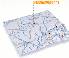 3d view of Messia-sur-Sorne