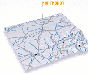 3d view of Montmorot
