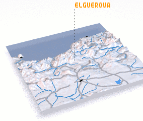 3d view of El Gueroua