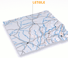 3d view of L'Étoile