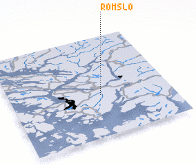 3d view of Romslo