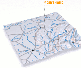 3d view of Saint-Maur