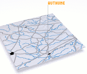 3d view of Authume