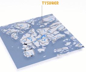 3d view of Tysvær