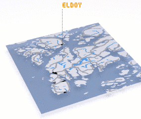 3d view of Eldøy