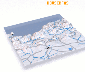 3d view of Bou Serfas