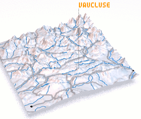3d view of Vaucluse