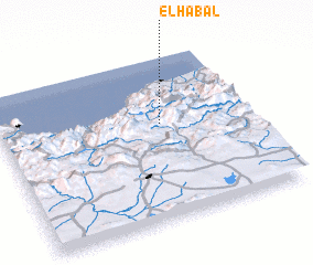 3d view of El Habal