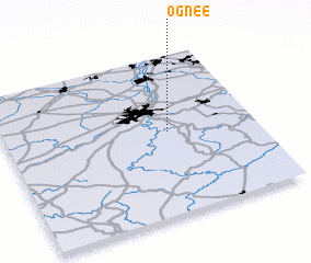3d view of Ognée
