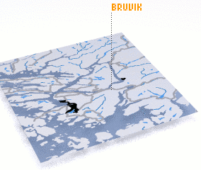 3d view of Bruvik