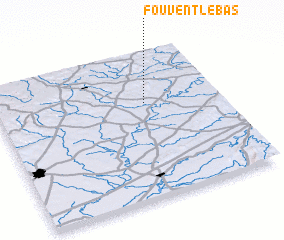3d view of Fouvent-le-Bas