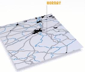3d view of Hornay