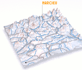 3d view of Marcieu