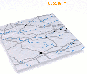 3d view of Cussigny