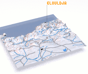 3d view of El Ouldja