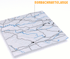 3d view of Rombach-Martelange