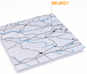 3d view of Halanzy